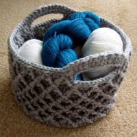 Diamond Trellis Basket