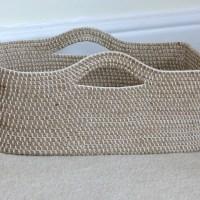 Crochet Rope Basket Update