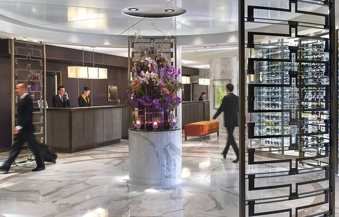 Mandarin Oriental Genève Lobby