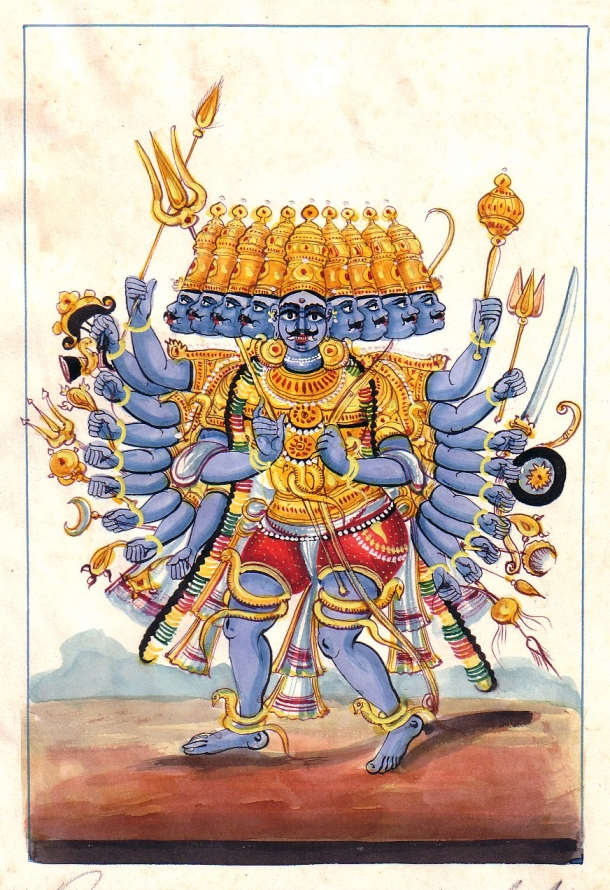 Ravana with the 10 Head