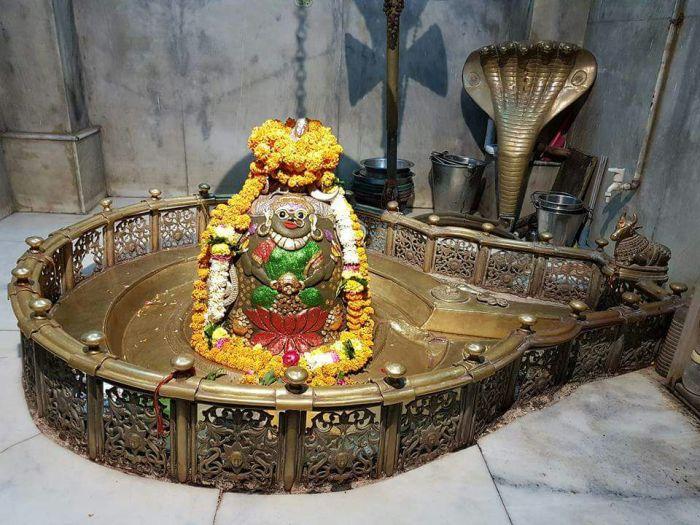 श्री अनादिकल्पेश्वर महादेव क आज का संध्या आरती शृंगार दर्शन 19 अक्टूबर 2017 दीपावली 1