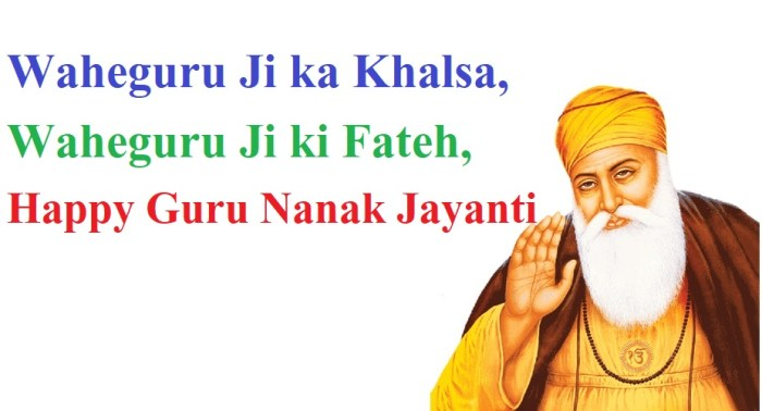 Guru Nanak Dev Ji Wishes Quotes