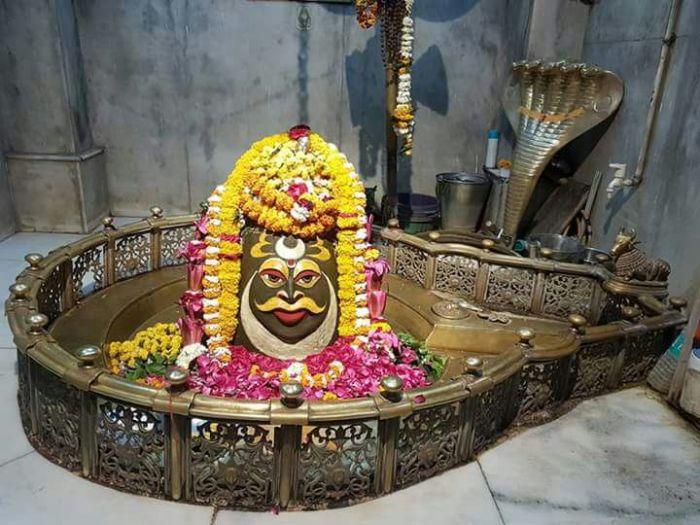 श्रंगार दर्शन श्री आदिकल्पेश्वर महादेव जी के उज्जैन मध्य प्रदेश से