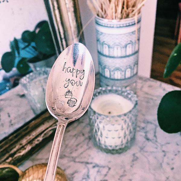 Cuillère Personnalisée Make My Spoon Anniversaire