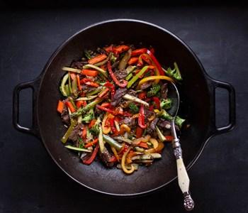 Korean Beef Stir Fry whole30 paleo
