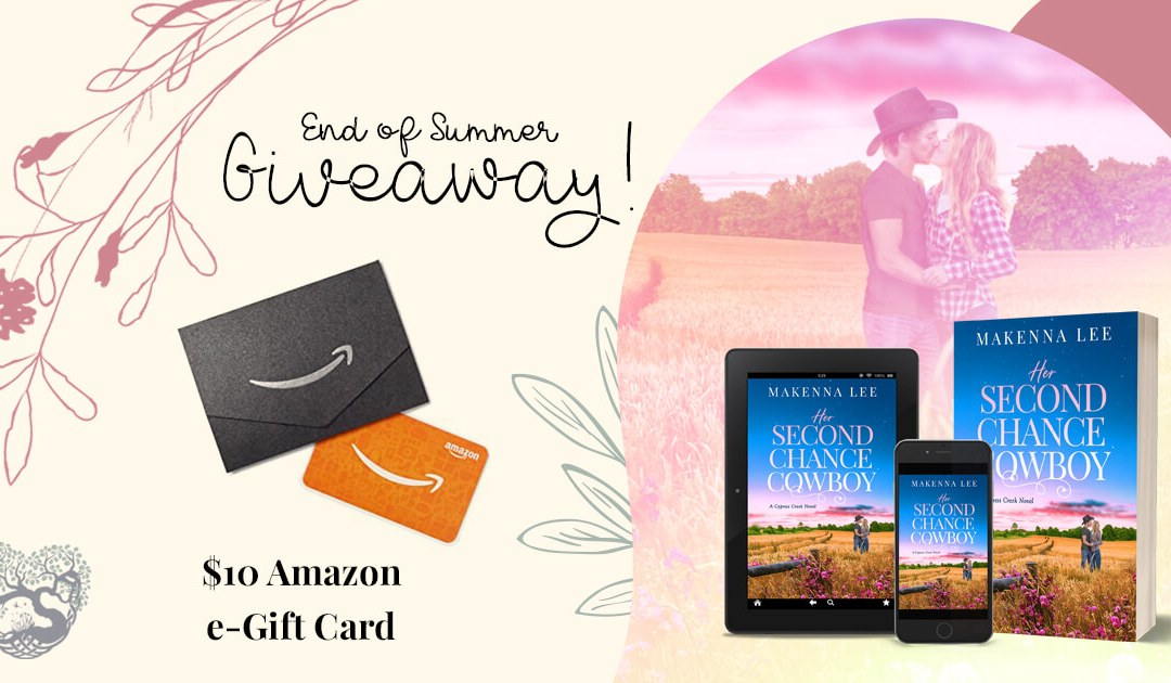 End of Summer #GiveawayAlert!