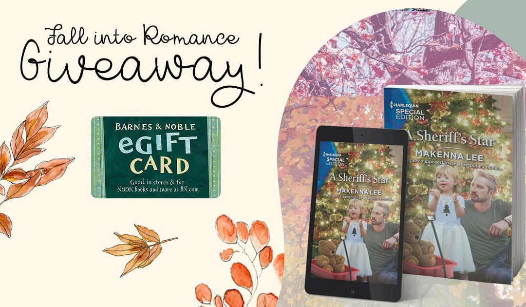 Fall Into Romance #GiveawayAlert