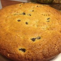 Blueberry Cornmeal Cake Jazz Mornings with CC's Coffee