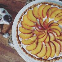 Peach Tart and other Farm to Table Desserts
