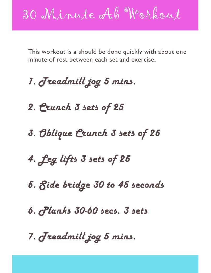 Free Ab Workout Routine