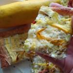 Zucchini Flatbread Pizza