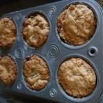 Apple Crumble Mufins