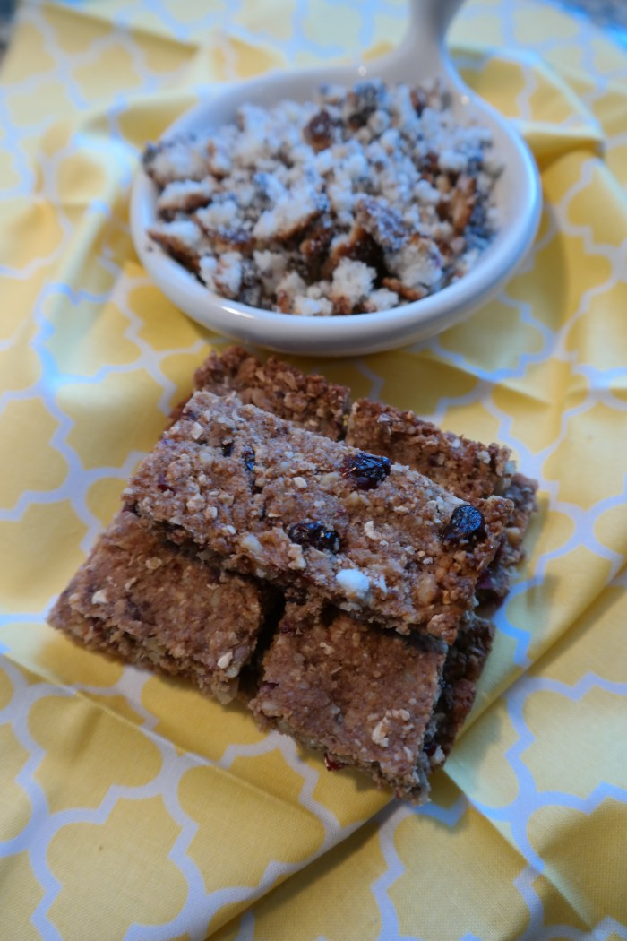 Leftover Muffin Oatmeal Bars