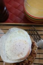 Shrimp Cake Breakfast