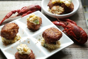 Makeover My Leftover Crawfish Fritters