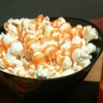 Leftover Candy Corn Popcorn