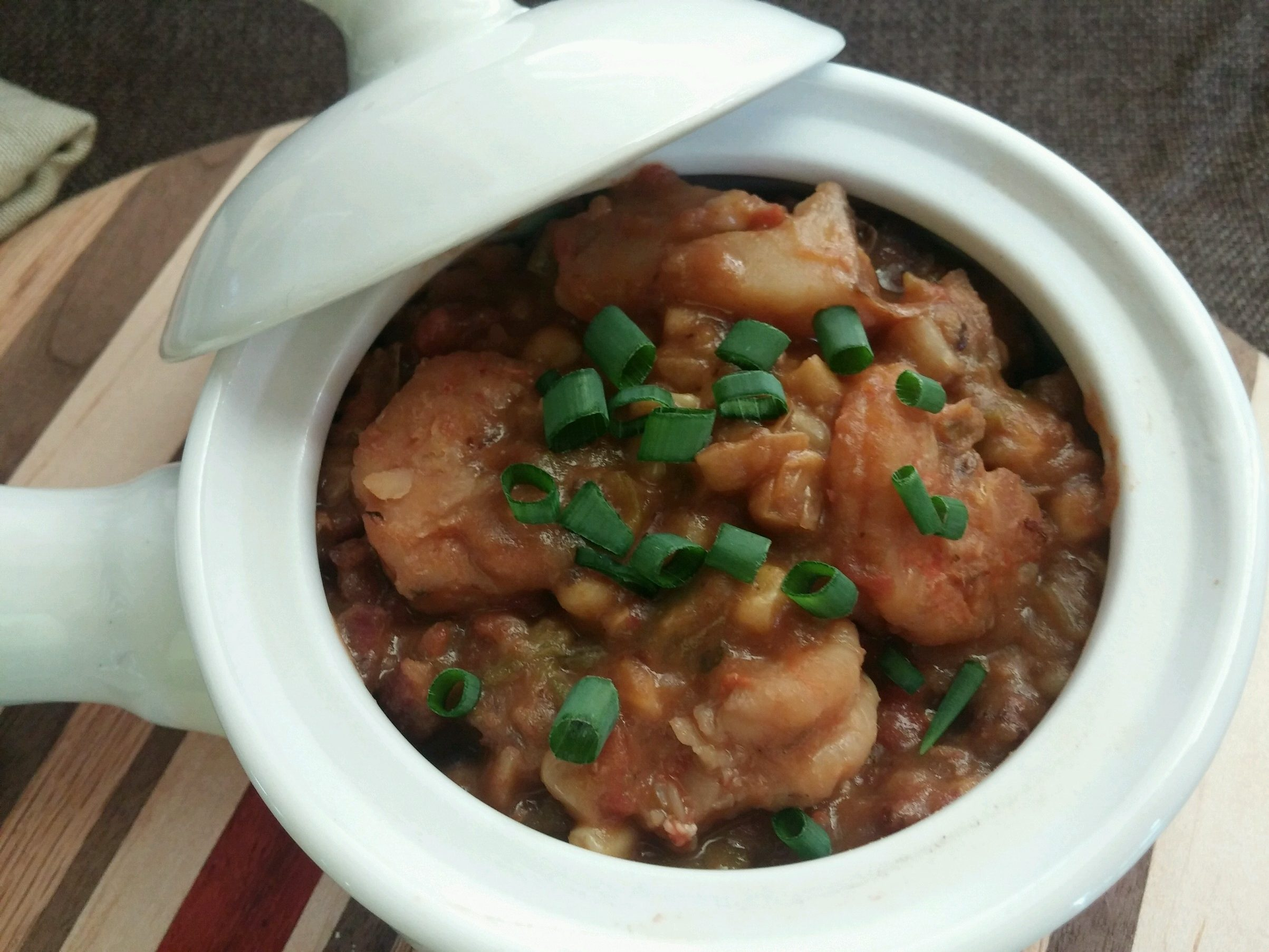 Old-Fashioned Shrimp Stew