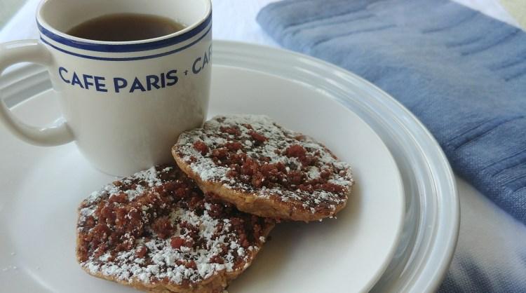 Red Beans & Rice Cornbread Pancakes