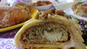 Double Stuffed King Cake