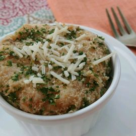 Creamy Crab Mashed Potatoes Au Gratin