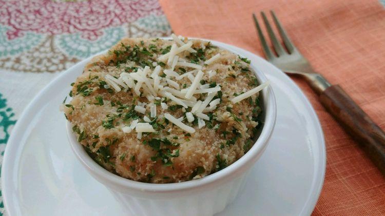 Creamy Crab Mashed Potato Au Gratin