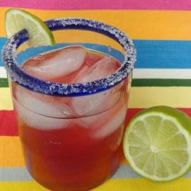 Very Berry Bubbly Margarita
