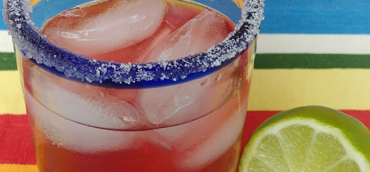 Very Berry Bubbly Margarita