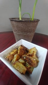 Green Onion Roasted Potatoes