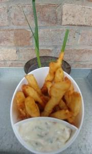 Tempura Fried Green Onion Bottoms