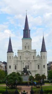 Jackson Square and the St. Louis Cathedral