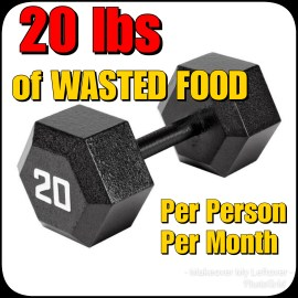 """New Year Food Waste """"Weight"""" Loss"""