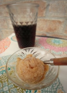 Old-Fashioned Root Beer Soda Sorbet