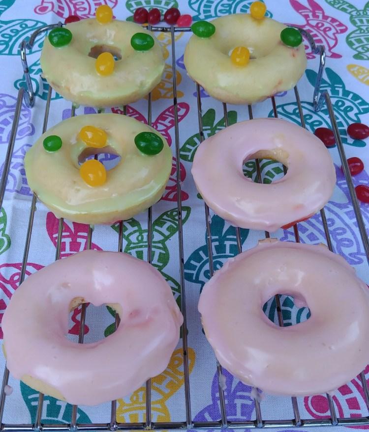 Baked Jelly Bean Dougnuts