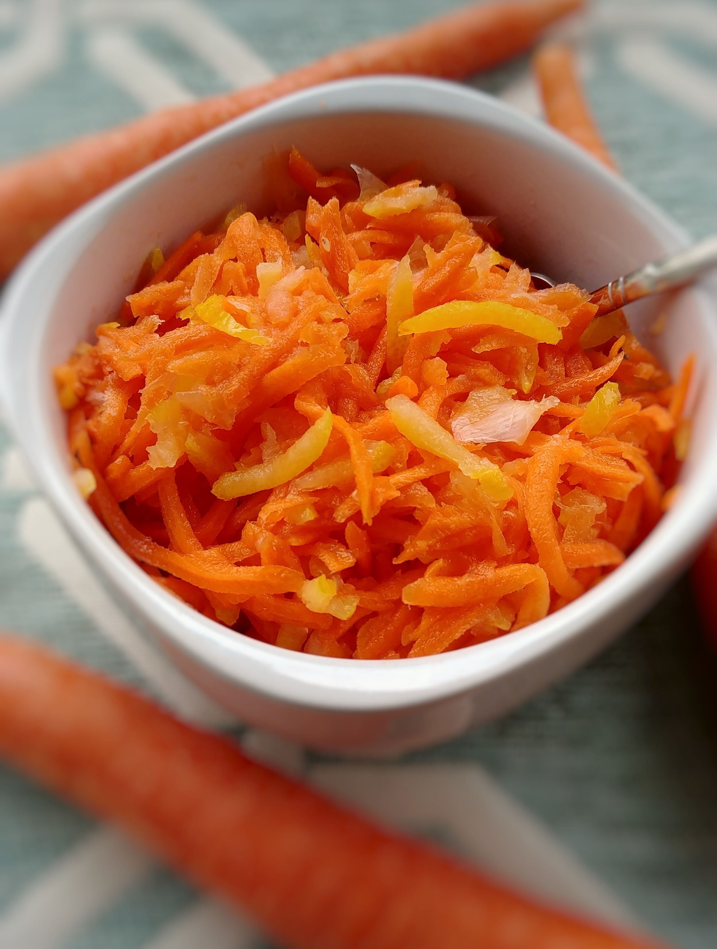 Zesty No Cook Carrot Relish
