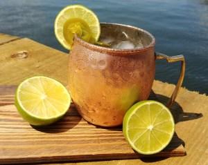 Hot Summer Jalapeno Juice Mule