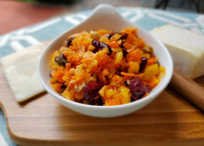 Lemon Cranberry Carrot Relish
