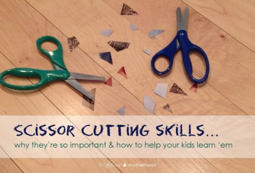 Scissor Cutting Skills; www.makeoversandmotherhood.com