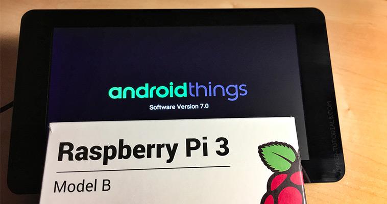 Android Things auf einem Raspberry Pi 3 installieren und WLAN einrichten