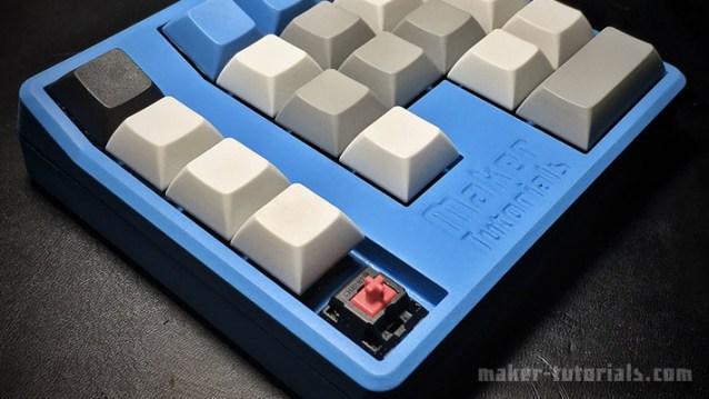 mechanical Gamepad Macro Pad Keyboard Cherry MX Switch Arduino Pro Micro 3d print
