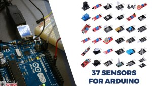 Get 37 Sensors and Modules For Your Arduino For $11