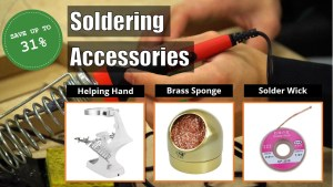 Saturday's Deal: Save Up to 31% in Soldering Accessories