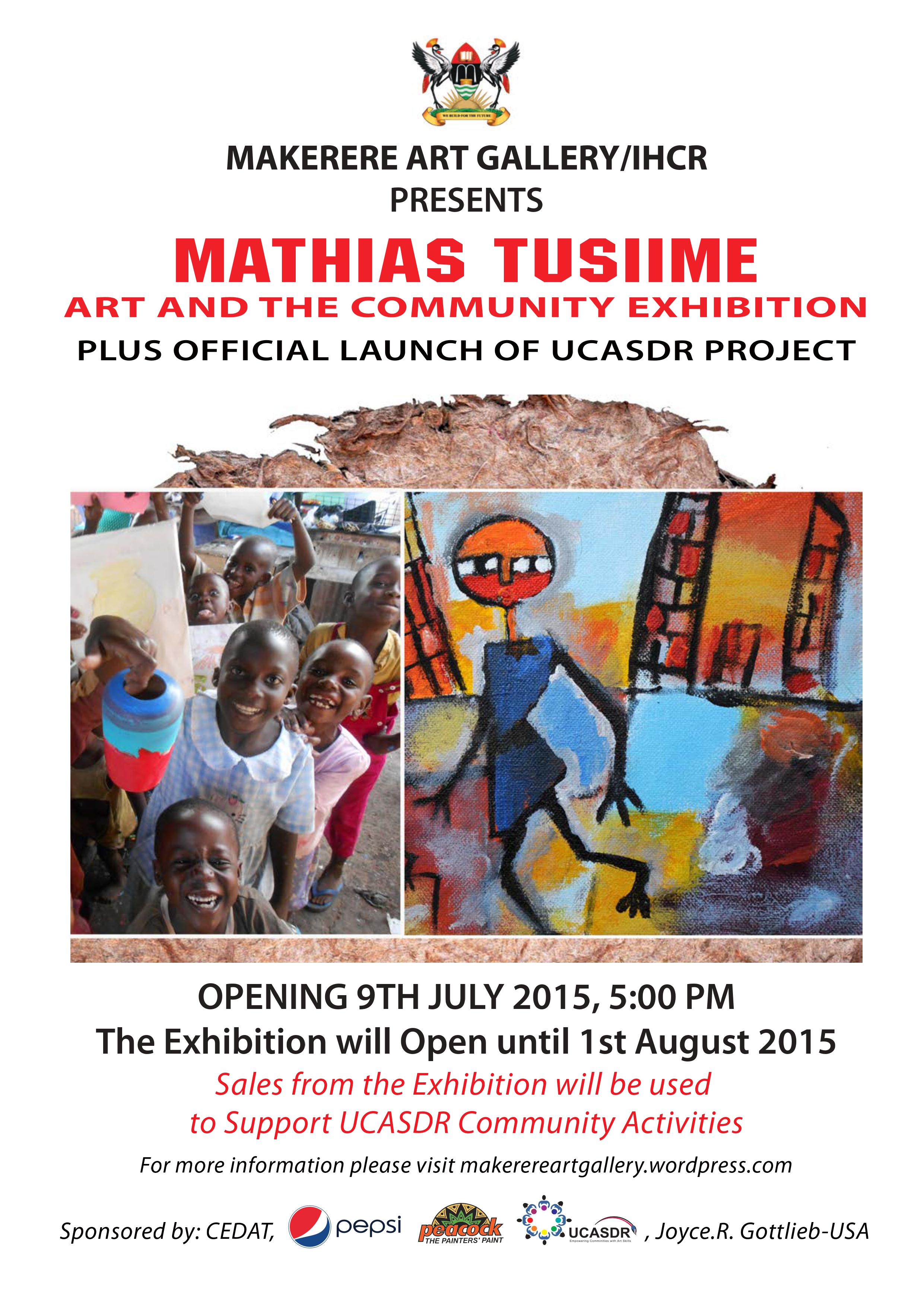 Mathias Tusiime Art And The Community