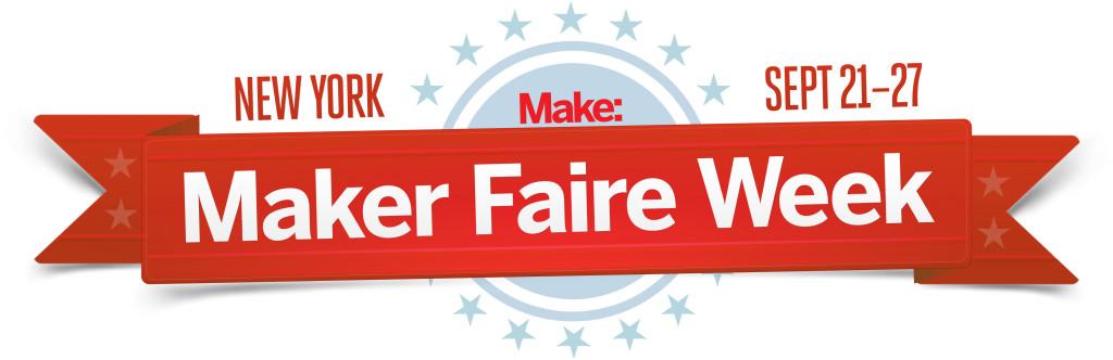 World Maker Faire New York 2015 Maker Week Ribbon