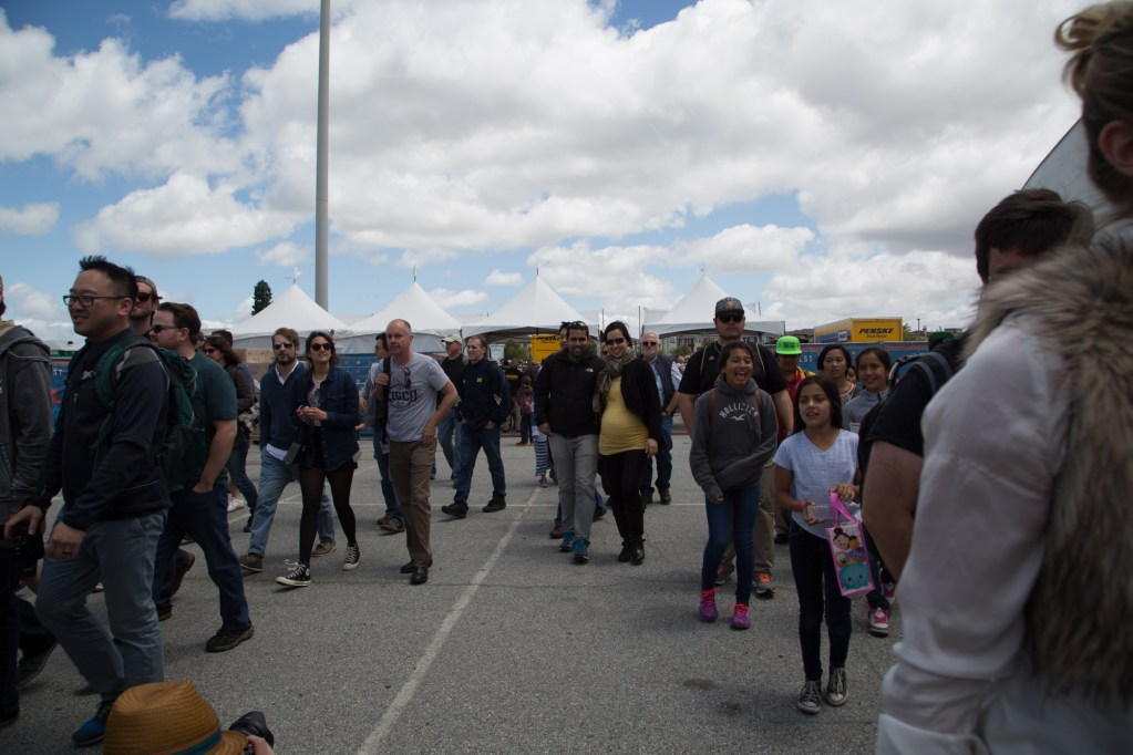 SAN MATEO, CA May 20 2016 - Scenes from FRIDAY@Makerfaire