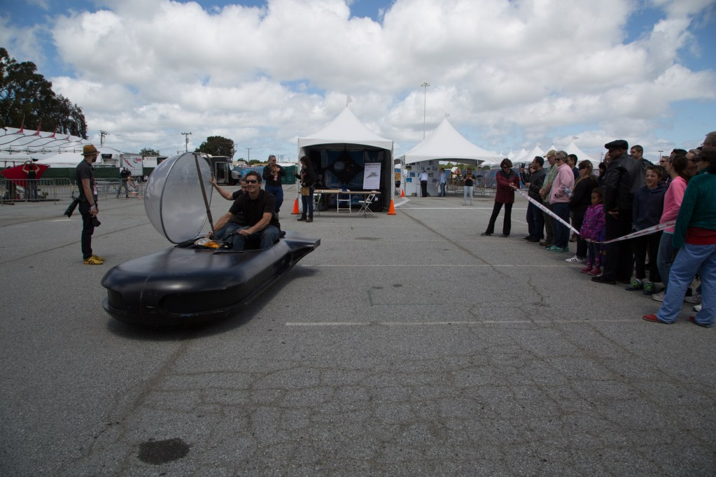 SAN MATEO, CA May 20 2016 - Scenes from  Maker Faire Bay Area 2016