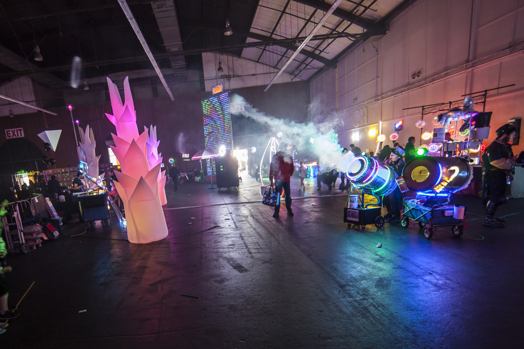 SAN MATEO, CA May 20 2016 - The 11th Annual Maker Faire Bay Area at the San Mateo County Event Center.