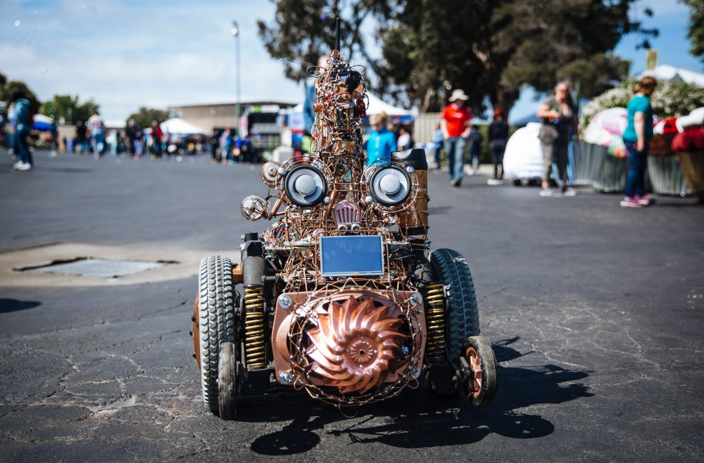 Maker Faire Wire Robot