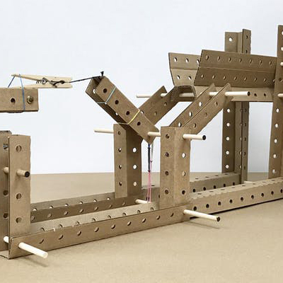 Contraption from Cardboard