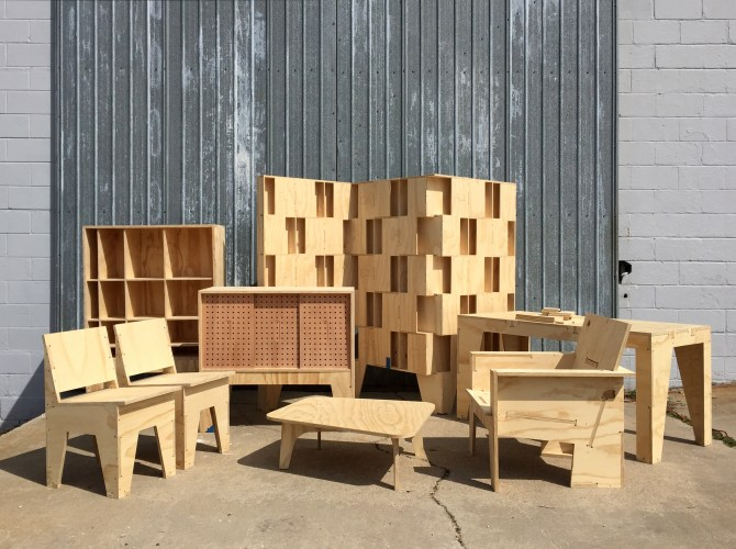 Maker Faire Atfab Furniture And Design For Cnc