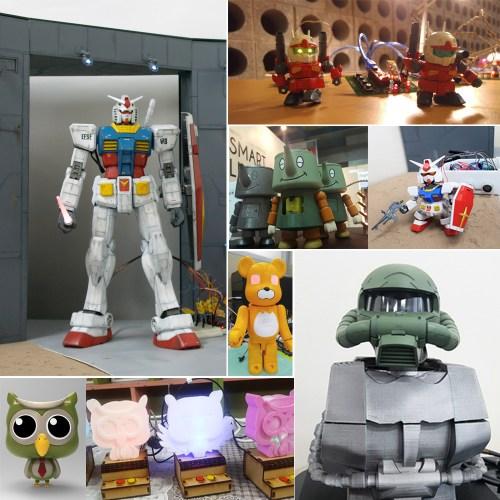 Maker Faire | Moving Gunpla & Figure